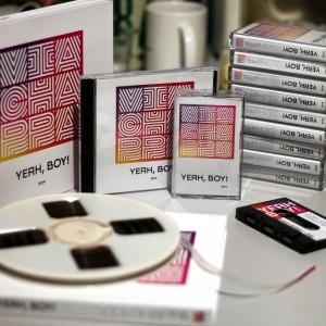 Vinyl Cassette Reel-toReel CD Via Chappa 2019